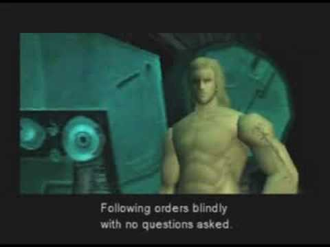Metal Gear Solid - Part 31: Discussion with Liquid