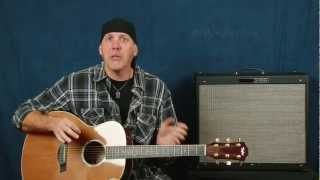 Learn how to play guitar Easy Beginner lesson create music play chords songs and strum patterns