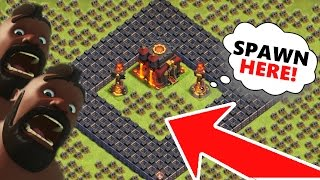 "Clash Of Clans | ""BLACK HOLE TROLL BASE"" THIS IS SO EPIC!! :)"