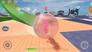 Roblox game super blocky ball