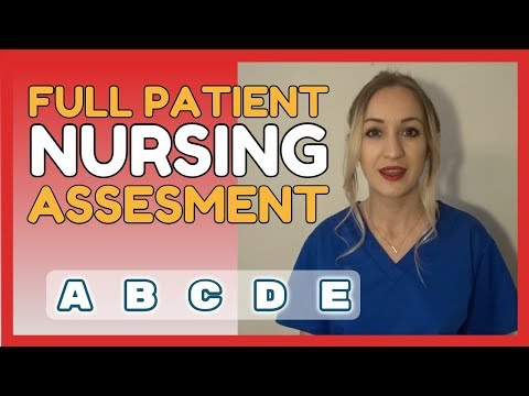 How To Perform A Patient Nursing Assesment | ABCDE Approach | UK