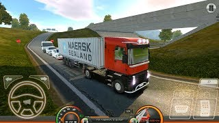 Truck Simulator Europe 2 - Cargo Container Delivery - Android Gameplay FHD screenshot 3