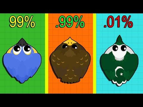 Mope.io 1 HOUR LUCK CHALLENGE! RARE ANIMALS CHALLENGE RECORD! How Many Rare Animals Can I Get?
