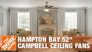 "Hampton Bay 52"" Campbell Ceiling Fans 