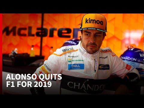 Why is Fernando Alonso quitting F1 and who will replace him?