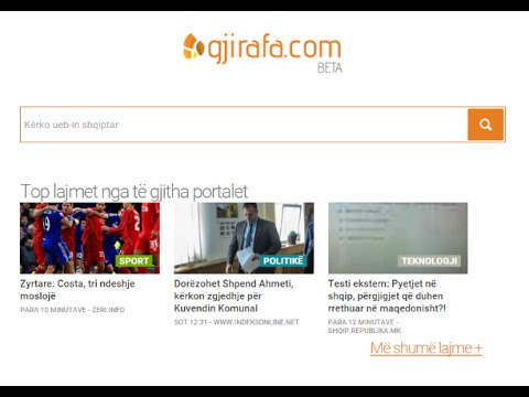 Gjirafa - Kërko Punë - Si Të Kërkoni Punë Në Portalin Gjirafa.com