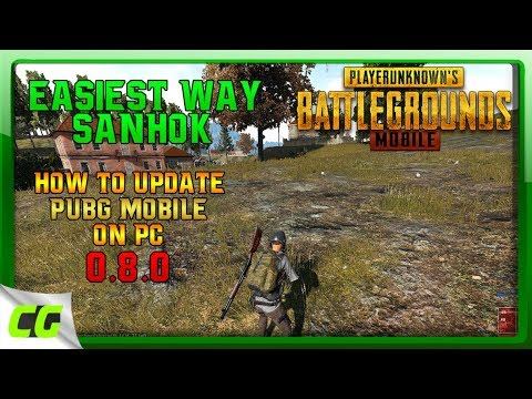 how to update PUBG mobile for PC 0.8.0 [tencent emulator]