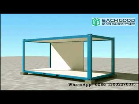 Easy installation of prefabricated house module