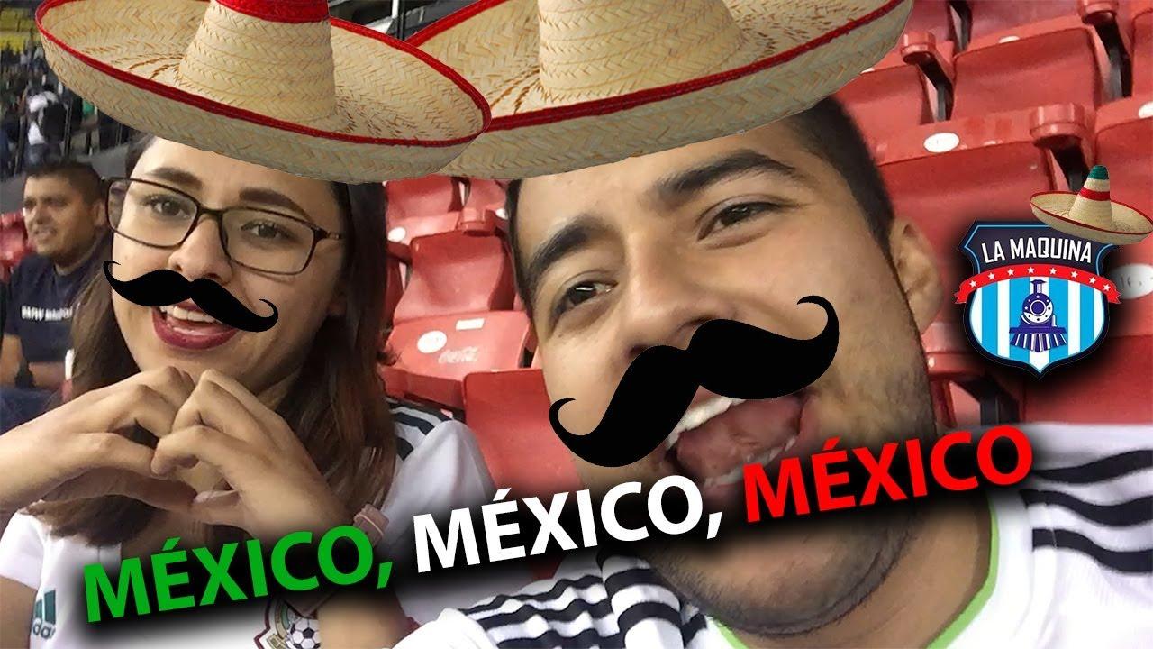MÉXICO vs PANAMA!! GANANDO EN EL AZTECA. (REACCION DESDE EL ESTADIO)