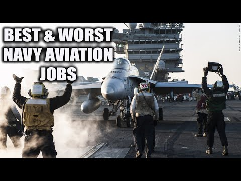 TOP 3 BEST AND WORST NAVY AVIATION JOBS?! (2019)