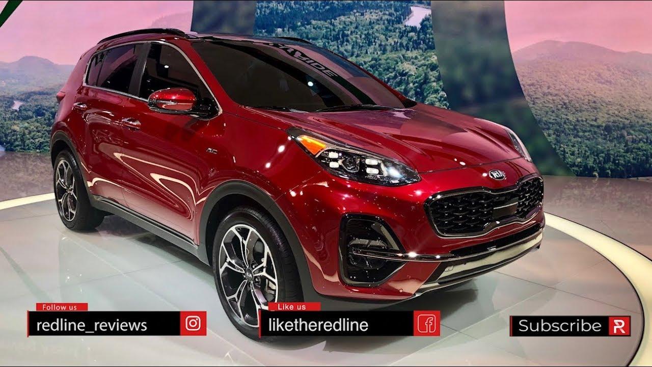 2020 Kia Sportage Redline First Look 2019 Chicago Auto Show Youtube
