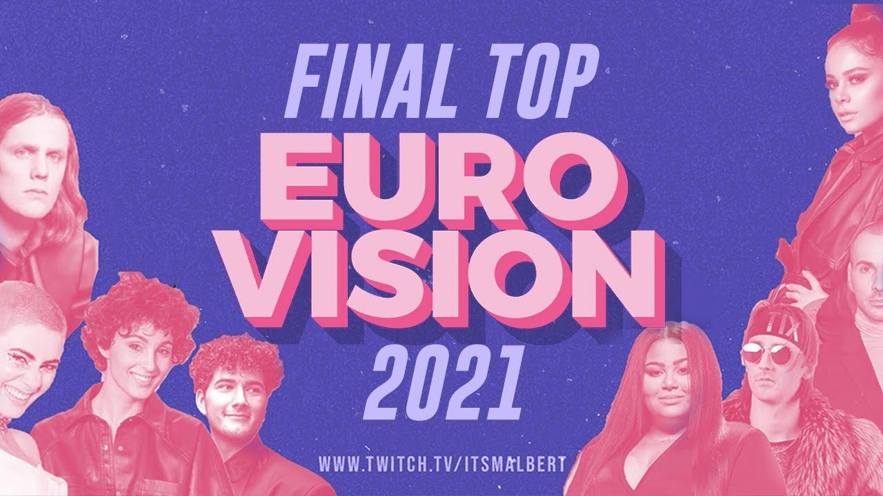 🔥EUROVISION 2021 FINAL TOP 38🔥 | MALBERT DIRECTOS