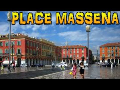 PLACE MASSENA - Nice in 4K
