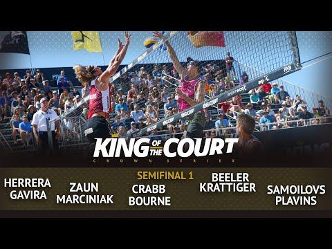 Men's Semi Final 1 - Full Match | Beach Volleyball | King Of The Court Huntington Beach (USA)