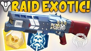 Destiny 2: NEW EXOTIC RAID QUEST! How To Get The Legend of Acrius - Await the World Eater Quest