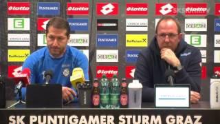 SK Sturm: Mediabriefing vor SV Ried (20. Runde 2016/17)