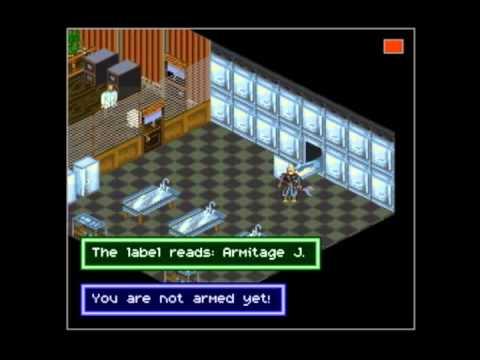 Let's Play Shadowrun(SNES) - Part 1