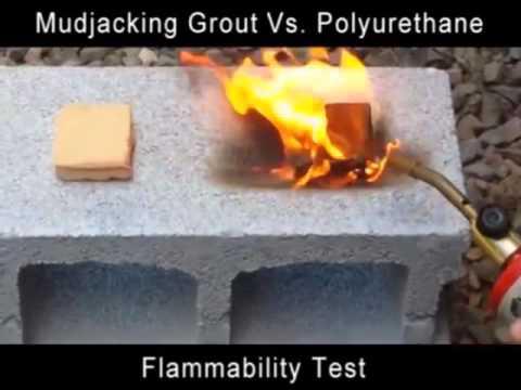 Poly Foam Concrete  Leveling  And Raising Versus Mudjacking