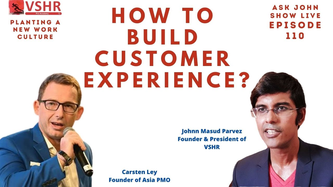 Customer is King : How to build Customer Experience
