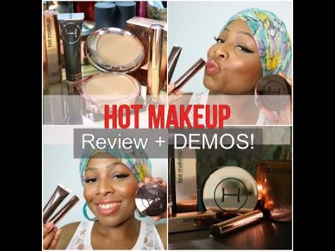 Hot Makeup USA Review & DEMO! Pores Away, Touch Me Up, Fashion Fixation Lips