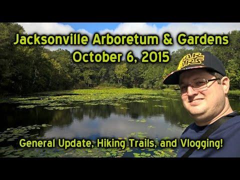 Jacksonville Arboretum - Nature Trail & General Update