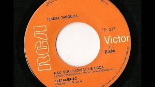 Tereza Tarouca: Nao Sou Fadista De Raca