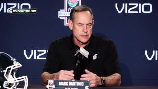 Mark Dantonio   Rose Bowl Press Conference