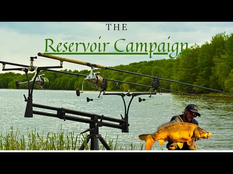 Carp Fishing With A Boat, Canadian Mirror Carp Paradise (Canada's Dale Hallow) PART 1