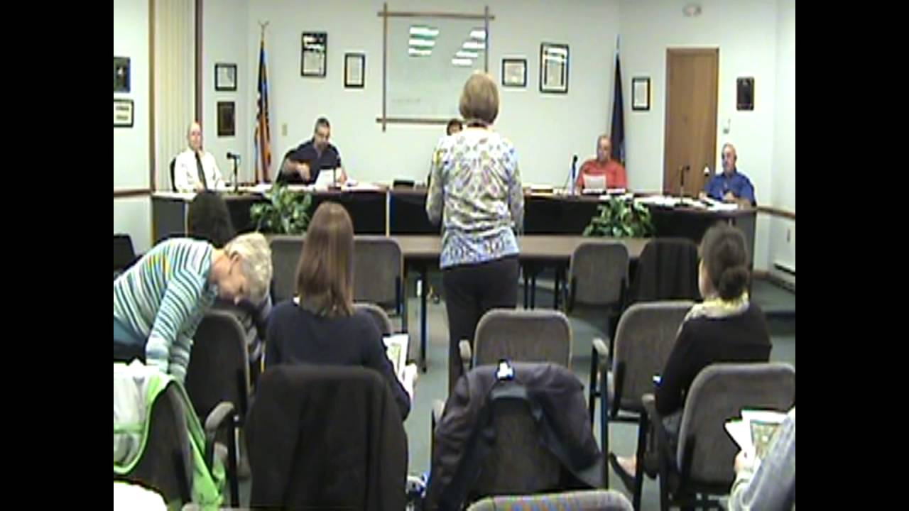 Rouses Point Village Board Meeting part one  4-18-16