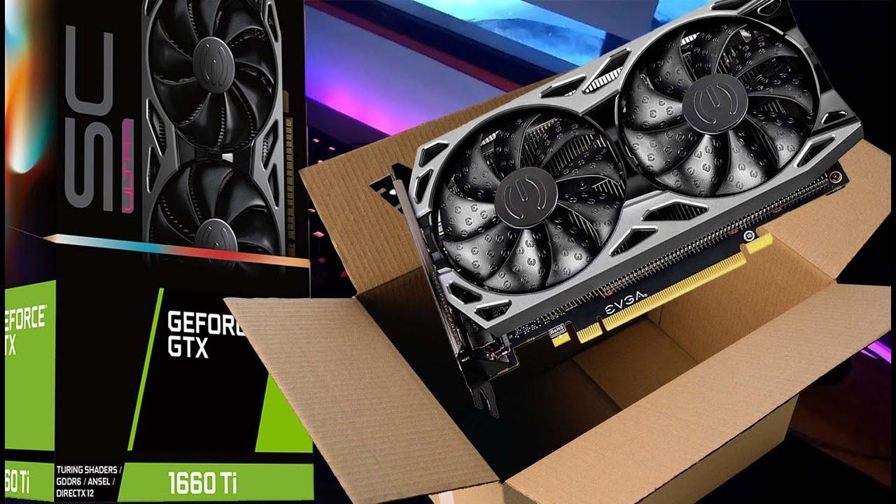 EVGA GeForce GTX 1660 Xc Ultra Black 6144 MB GDDR5 Graphics Card