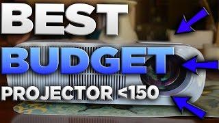 BEST BUDGET PROJECTOR $150 2017   Crenova XPE600 2600 Lumen Review