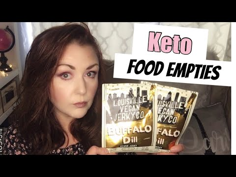 KETO AND VEGAN FOOD EMPTIES   FAVORITES AND FAILS    Is it worth the $$?