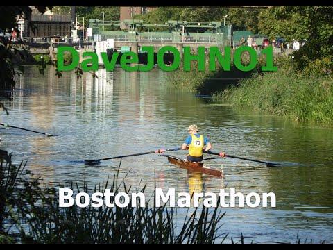 Boston Rowing Marathon 2016, Lincoln to Boston UK road bike ride