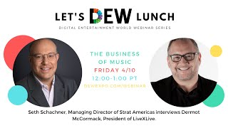 Let's DEW Lunch Webinar with LiveXLive (April 10, 2020)