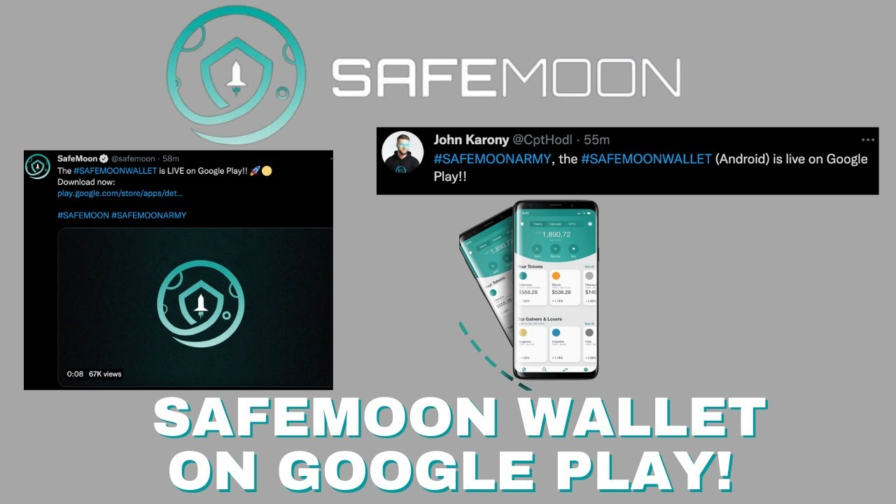ANDROID USERS DO THIS AFTER DOWNLOADING YOUR SAFEMOON WALLET!