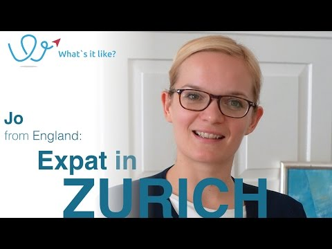 Living in Zurich - Expat Interview with Jo (England) about her life in Zurich, Switzerland (part 01)