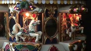Mr Christmas Musical Antimated Holiday Merry Go Round
