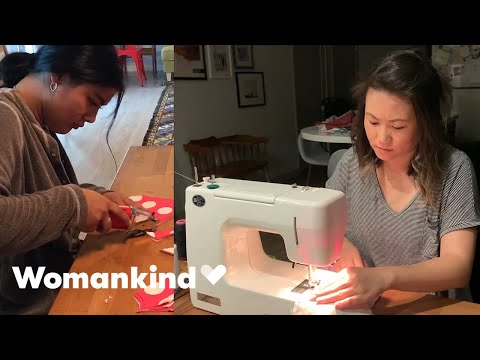 Aunties form ultimate sewing squad to save lives | Womankind