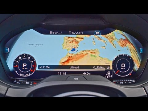 Virtual Cockpit In The Audi A3