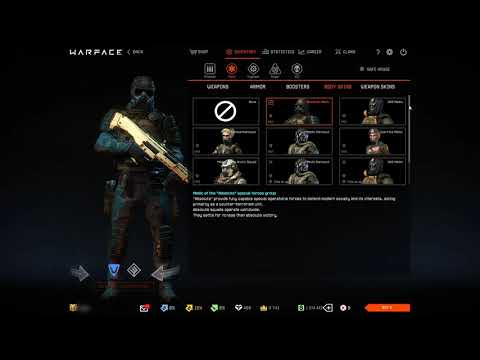 Warface account for sale 2020