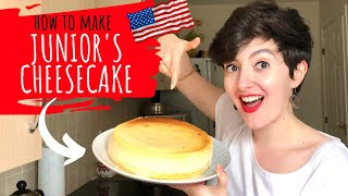 Making and Reviewing Junior&#39s Cheesecake!