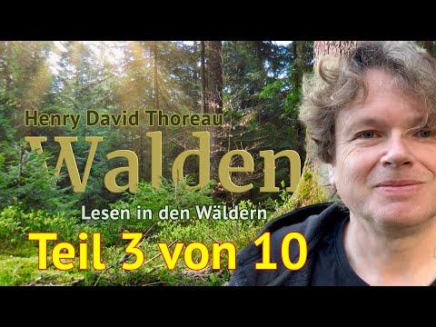 Henry David Thoreau: Walden – Teil 3 von 10 – Das Lesen in den Wäldern
