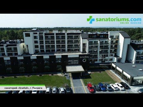 Санаторий «Gradiali» (Градиали), курорт Паланга, Литва - Sanatoriums.com