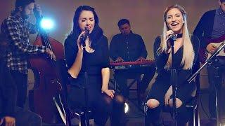 """""""Hosanna"""" Hillsong United Cover - Nikkiphillippi & Maddy McQ"""