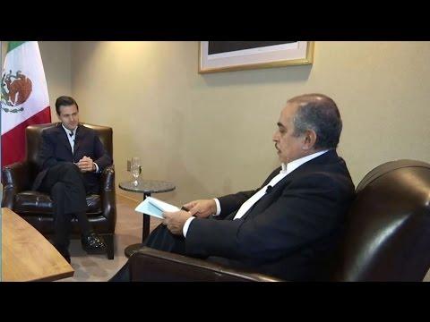 Entrevista Carlos Marin con Enrique Peña Nieto