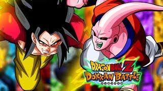 Using a Mono INT Buuhan team vs the Super Saiyan 4 Goku Boss stage ...