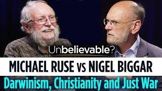 Michael Ruse vs Nigel Biggar • Darwinism, Christianity and Just War