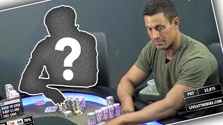 """MYSTERIOUS HIGH STAKES PLAYER """"WHOISWHO"""" DESTROYS HUGE CASH GAME ♠ Live at the Bike!"""