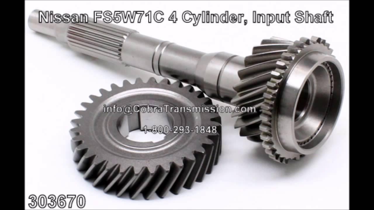 Nissan fs5w71c4 input shaft for 4cyl 303670 cobra transmission parts