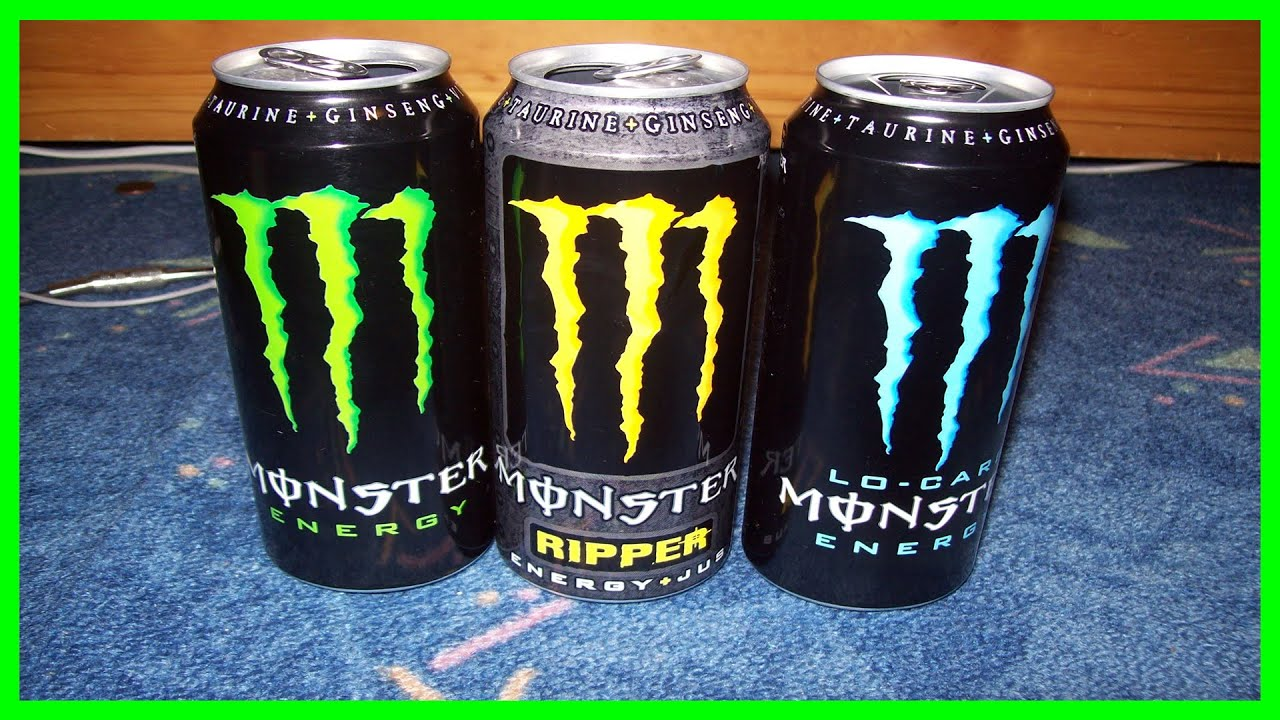 monster energy weiß